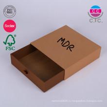 Цена Фабрики Dongguan Раздвижные Подарок Ящик Коробки Картонная Коробка
