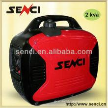 Digital Silent Portable 2KVA Gasoline Engine Inverter Generator
