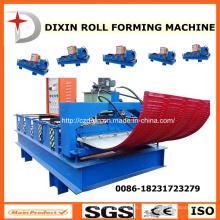 Máquina de dobra trapezoidalmente do rolo do telhado de Dx