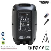 Fabrik Versorgung Portable 8 Zoll Kunststoff PA Lautsprecher mit Multifunktion