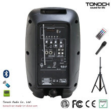 Factory Supply Portable 8 Inches Plastic PA Speaker with Multi-Function