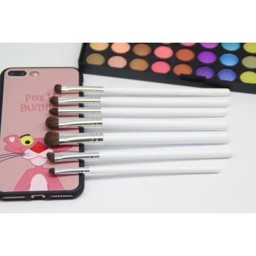 Make-up Pinsel Set Silber Griff Auge Make-up Pinsel