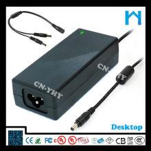 Adaptador 5.5x2.5mm 14v 5a 50-70hz adaptador de la corriente continua de la CA fuente de alimentación del 12w 70w ite 12v