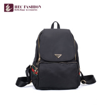 HEC Wholesale Girls Bag PVC PU Material High School Backpack