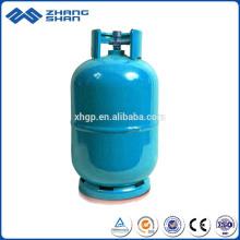 Gaz de cuisson 5KG remplissant le cylindre soudé de LPG de réservoir de stockage