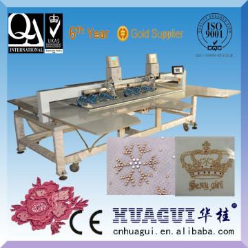 HUAGUI billige Edelstein Stein Befestigungsmaschine für Kleid