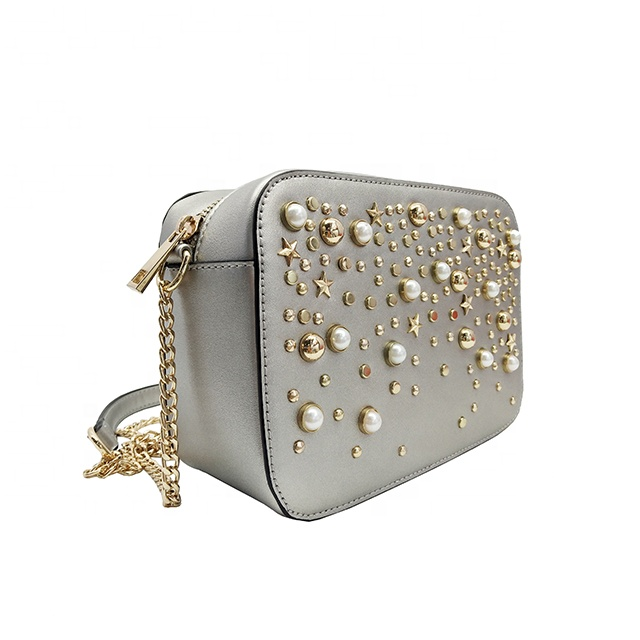 silver clutch bag uk