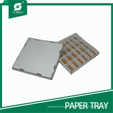 Hard Paper Tray mit Partition