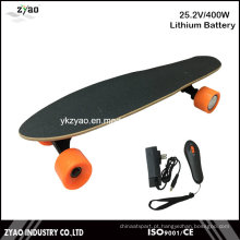 400W Lítio melhor skate elétrico com controle remoto
