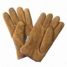 Guantes de cuero de invierno para el trabajo de clima frío