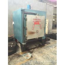 Net belt type hot air circulation tempering furnace