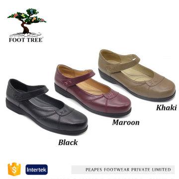 Comfort Leather Nursing Hospital Shoes