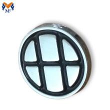 Round nickle plating lapel pin badge