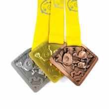 Ensemble de médailles de compétition de robot personnalisé