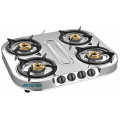 Kompor Gas Shakti Star 4 Burner SS