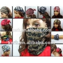 Custom head bandanas! Lowest Price, Best Quality! Best Discount Express Shippment Provide!