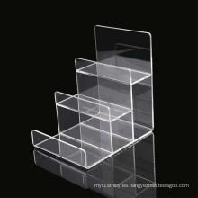 Bolso Display Promocional Mostrador de mostrador, Soportes de acrílico