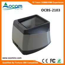 OCBS-2103 Desktop 2D Barcode Scanner Reader For Screen