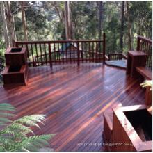 Decking de madeira contínuo de Merbau