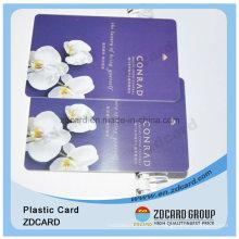 Impression de carte d'affaires de PVC / carte d'identification de PVC