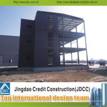 Bâtiment préfabriqué fort de construction multi de niveau rapide