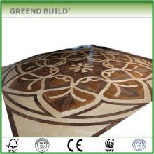 Una variedad de parquet de piso de madera del azulejo de piso de madera