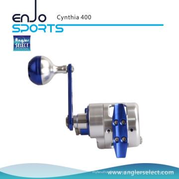 Angler Select Cynthia Sea Angelrolle 8 + 1bb Super Smooth Aluminium Jigging Reel Fischerei Jig Reel (Cynthia 400)