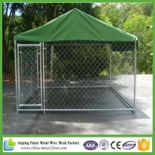 China Fornecedor 10FT X 10FT X 6FT China Cadeia-Link Dog Kennel