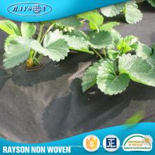 China Lieferant Mulchen Blumenverpackung Material Landwirtschaft Schwarz Kunststofffolie