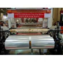 Turkey exhibition double layer 1000mm stretch film production Turkey exhibition double layer 1000mm stretch film production line