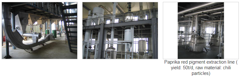 Natural Pigment Extraction Line