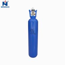 50l amplamente utilizado no cilindro de gás sem emenda industrial do oxigênio