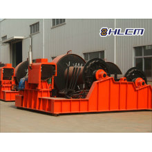 Cabrestante eléctrico para lanzamiento y construcción de buques (HLCM-27)