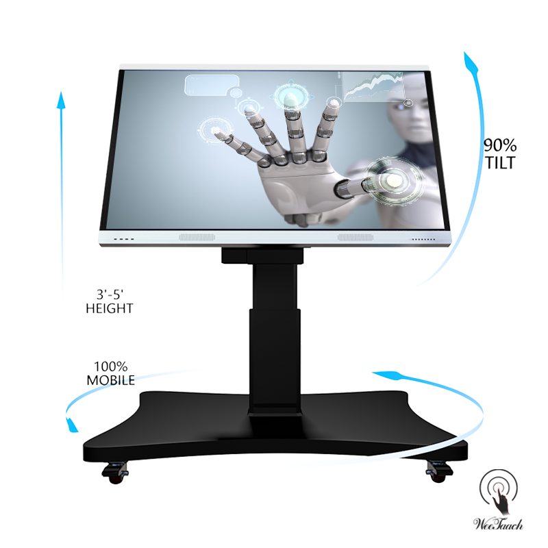65 4K Digital Whiteboard Cheap With Automatic Stand