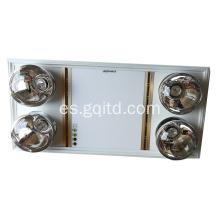 Celling Mounted LED Fan Bathroom Master con 4 bombilla resistente a explosiones