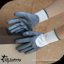 SRSAFETY нейлоновая оболочка 3/4 нитриловая рабочая перчатка / навальные нитриловые перчатки