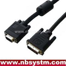 Weißes Abendessen VGA-Kabel für Projektor