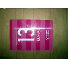 Transparent Plastic Card, Clear PVC Card, Frosted Transparent Card