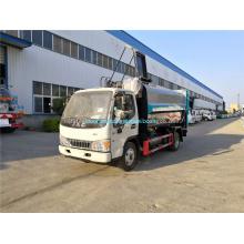 Carro de basura de cocina de cuerpo de acero inoxidable Dongfeng