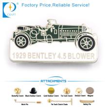 Bentley Blower Pin Abzeichen im alten Stil mit Car Shape