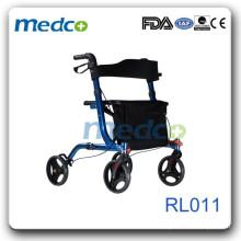 Economial outdoor use Aluminum Rollator RL011