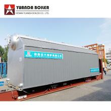 Caldeira a vapor com tubo de água a carvão de 10 ton / hora