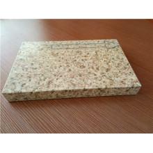 Paneles de sándwich Honeycomb de piedra para decoración de paredes