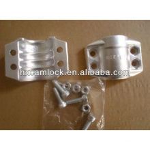 Abrazadera de seguridad de acero inoxidable o aluminio