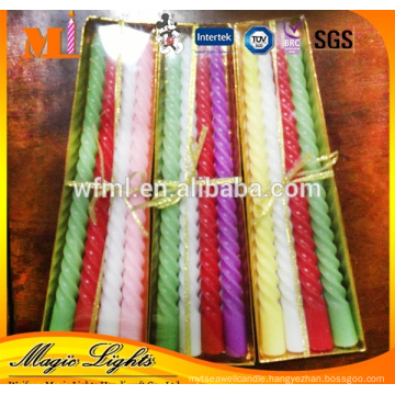 Manufacture Price Professional Produce Religion Church Screw Thread Candle