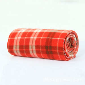 Plaid Hot Sale Designer Jacquard Airline Modacryldecke