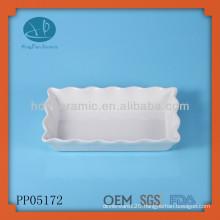 white porcelain lace plates bakeware plates