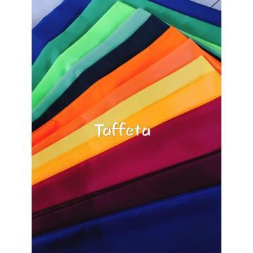 100% Polyester Microfiber Dyed Taffeta