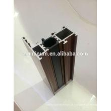 Perfis de janela de isolamento térmico em alumínio