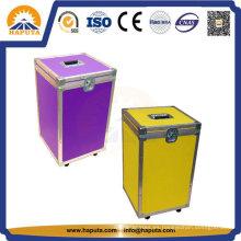 Caja de aluminio de colores para vuelo y transporte (HF-1200)